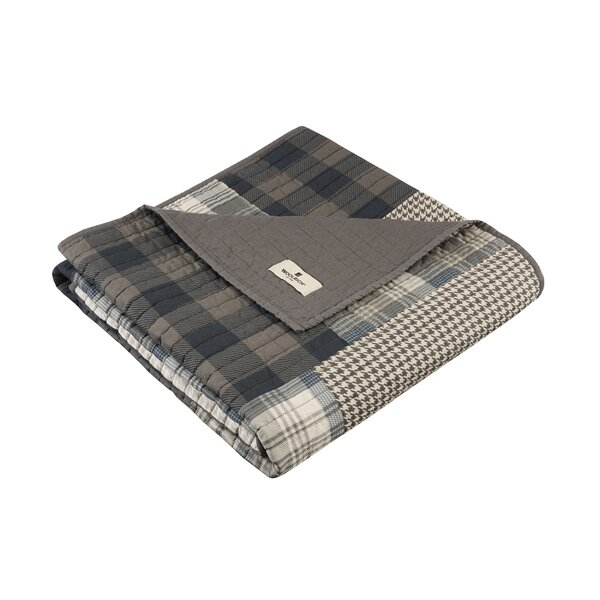 Winter Plains Quilted Cotton Throw by Woolrich