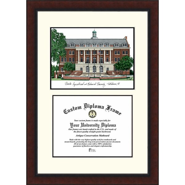 NCAA Florida A&M University Legacy Scholar Diploma Picture Frame by Campus Images