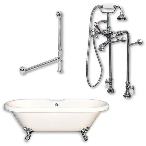 70 x 30 Clawfoot Bathtub by Cambridge Plumbing
