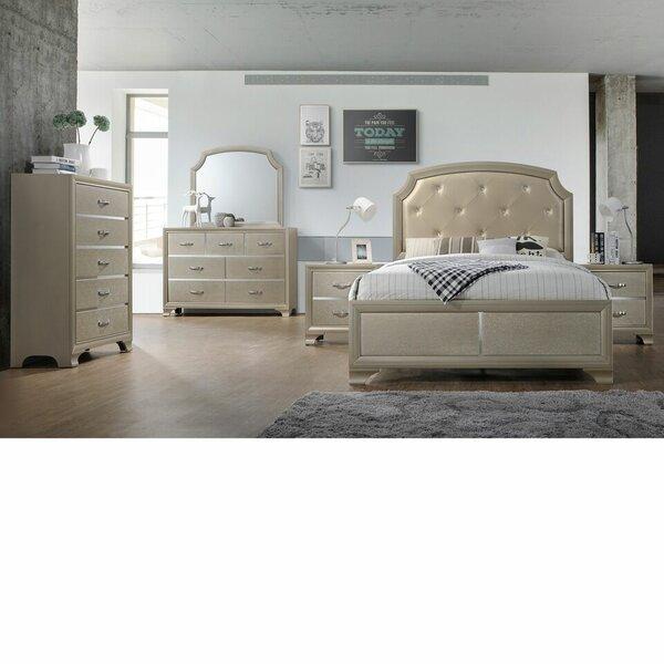 Mcpherson Queen Standard 5 Piece Bedroom Set by House of Hampton