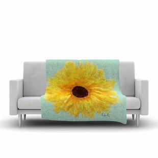 Best Reviews Oriana Cordero Sol Seafoam Fleece Blanket ByEast Urban Home