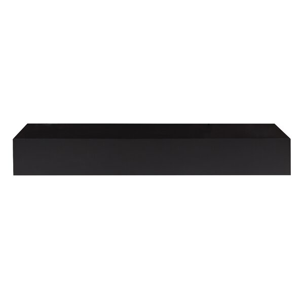 Collman Wood Floating Wall Shelf by Foundry Select