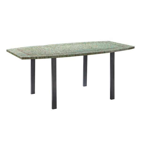 Bargain Boadle Mosaic Dining Table By World Menagerie 2019 Online