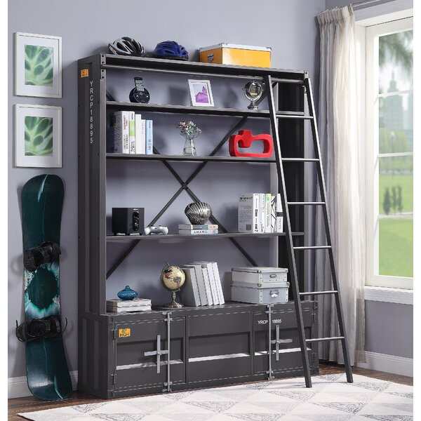 Medau Metal Etagere Bookcase by Breakwater Bay