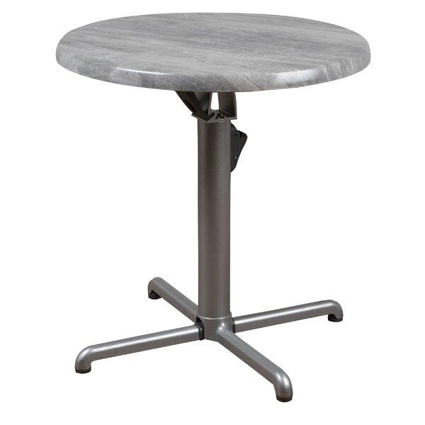 Aquia Creek Isotop Folding Bistro Table by Brayden Studio