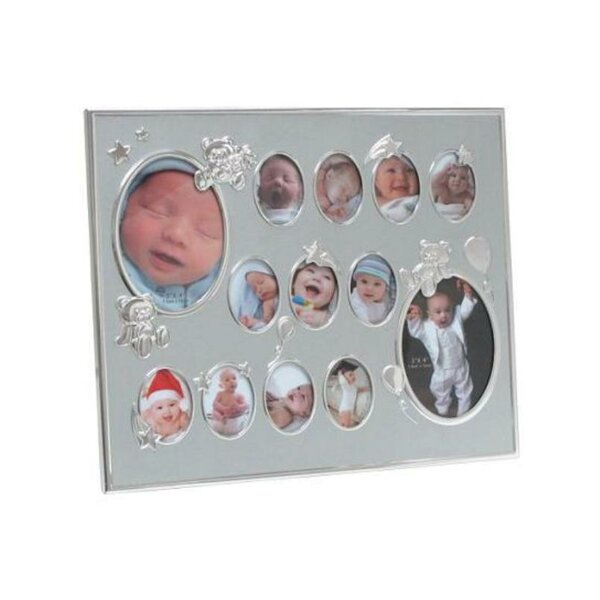 Lentz Baby Collage Aluminum Picture Frame by Winston Porter