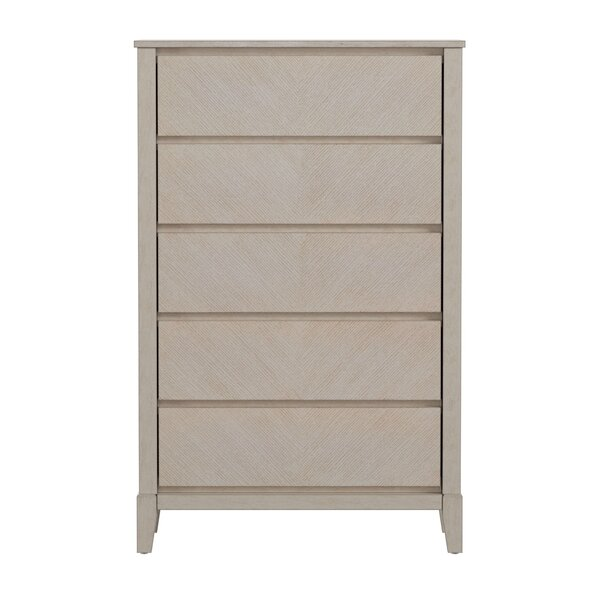 Nicolai 5 Drawer Chest by Wrought Studio