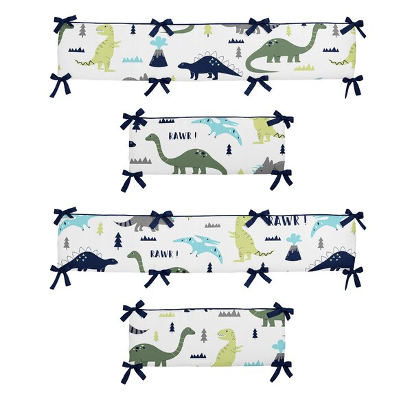 Mod Dinosaur Crib Bumper by Sweet Jojo Designs