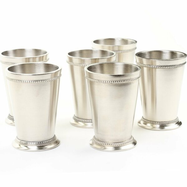 Charter Oak Mint Julep Teacup Set (Set of 6) by Darby Home Co