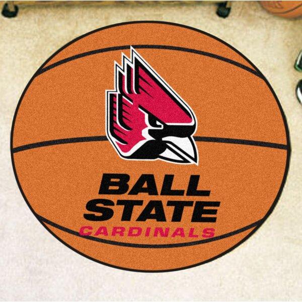 NCAA Ball State University Basketball Mat by FANMATS