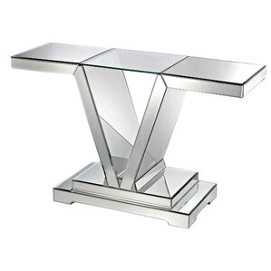 Savoy Rectangle Console Table by Willa Arlo Interiors