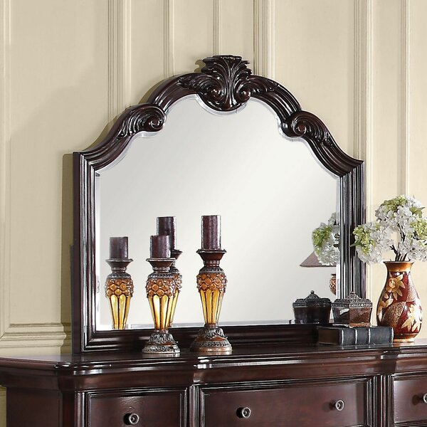 Tre Arched Dresser Mirror by Astoria Grand