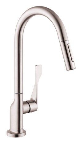 Citterio Pull Down Single Handle Kitchen Faucet by Axor