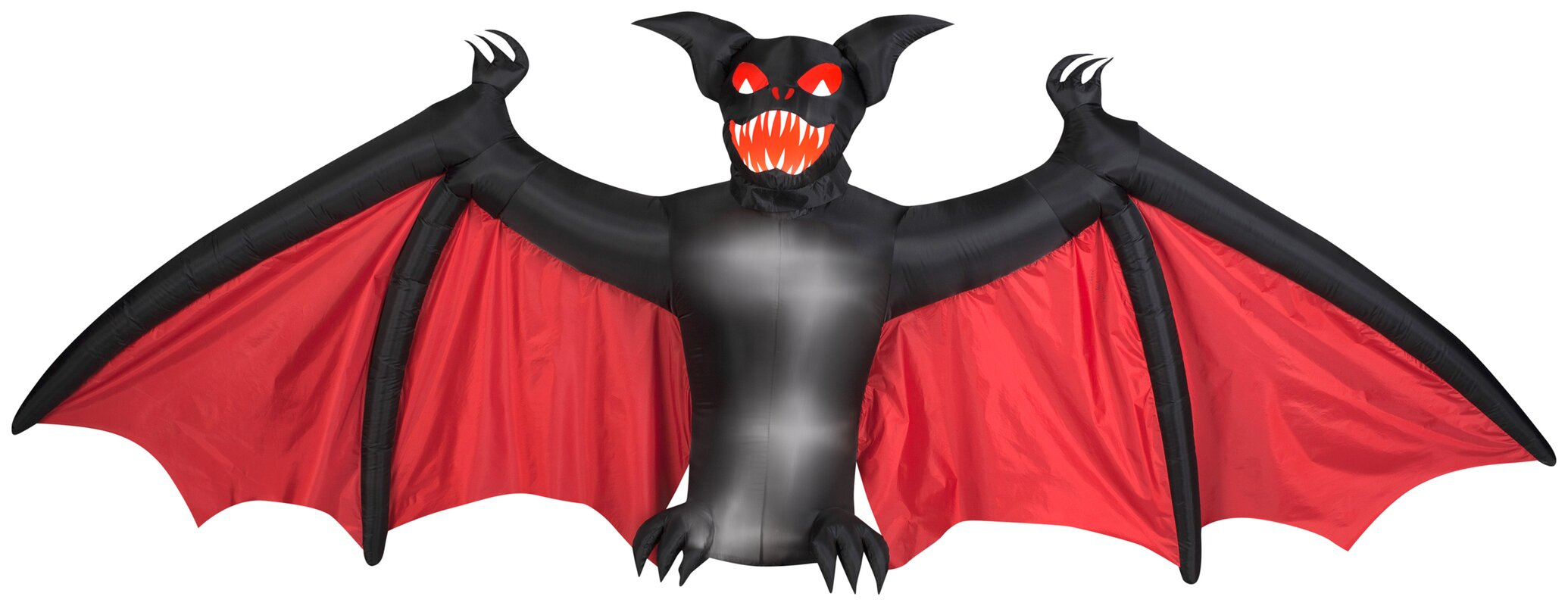 The holiday aisle animated scary bat halloween decoration for Animated halloween decoration