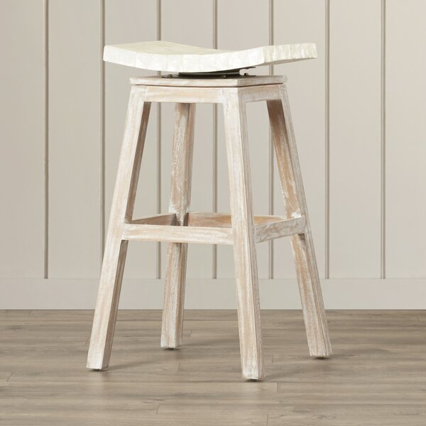 Dalvey 30 Bar Stool by Beachcrest Home