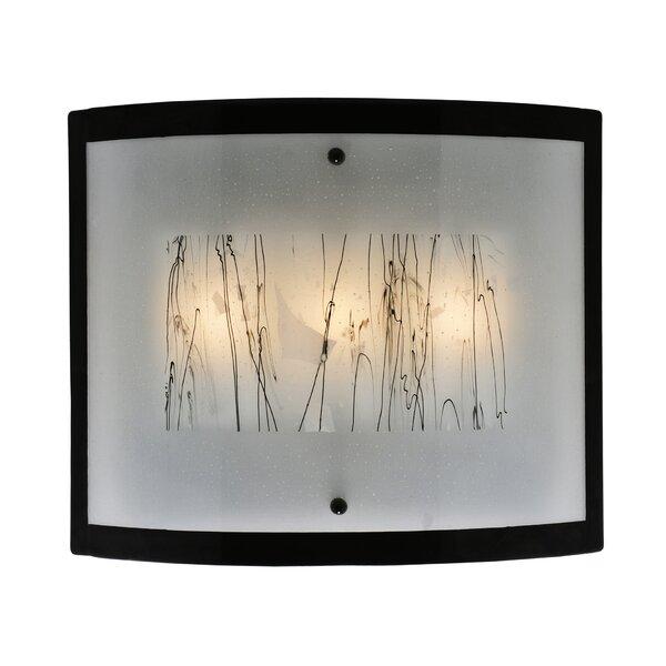 3-Light Metro Fusion Twigs Glass Wall Sconce by Meyda Tiffany