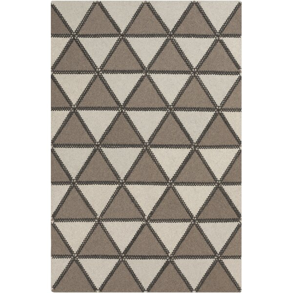 Alexander Taupe & Ivory Area Rug by Union Rustic