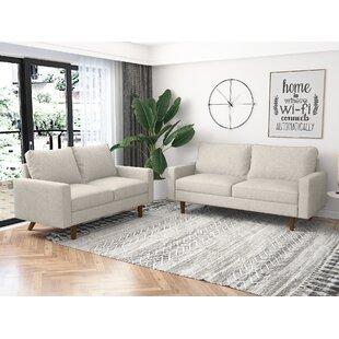 Ihne 2 Piece Living Room Set by Ebern Designs