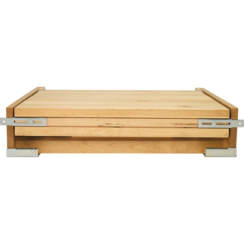 Tambour Table Pull Out Drawer