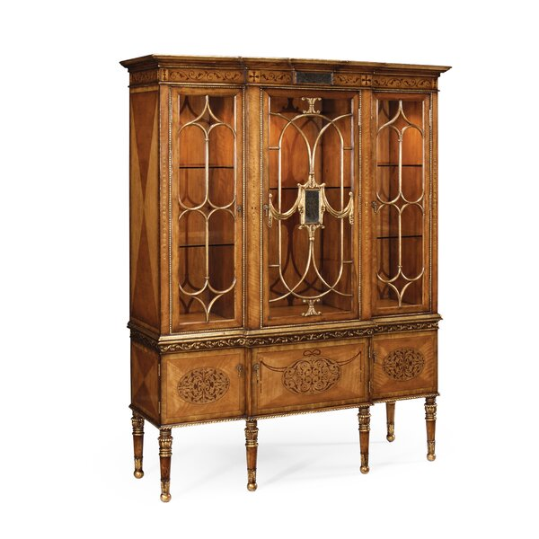 Breakfront China Cabinet by Jonathan Charles Fine Furniture