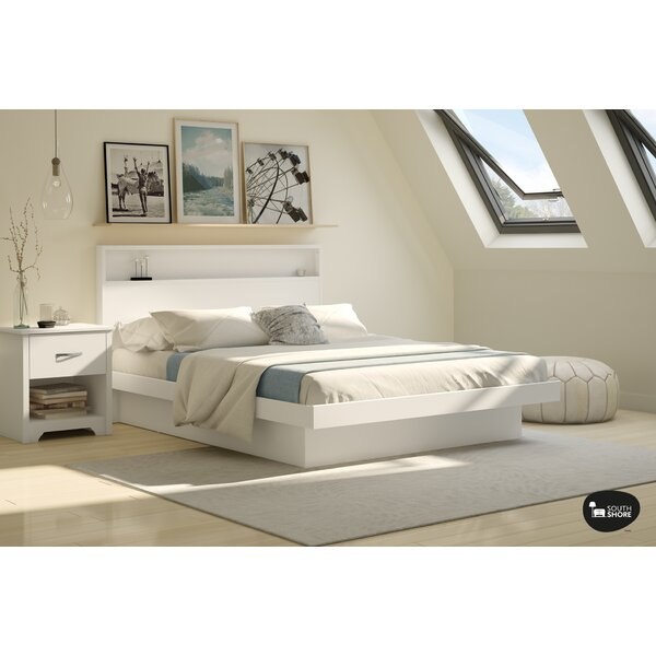 Great price Basic Platform Bed By South Shore 2019 Sale