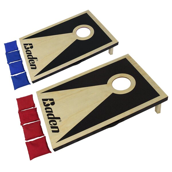 Pro Game Cornhole Board Set by Baden