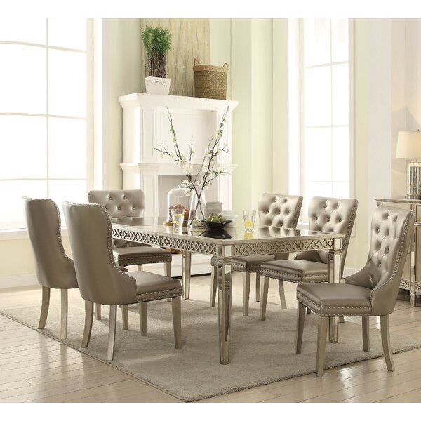 Karina 7 Piece Extendable Dining Set by Andrew Home Studio Andrew Home Studio