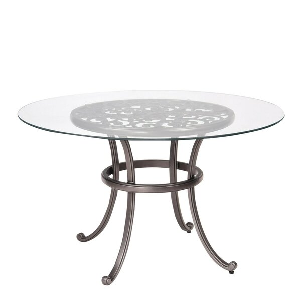 New Orleans Glass Dining Table (Set of 2) by Woodard Woodard