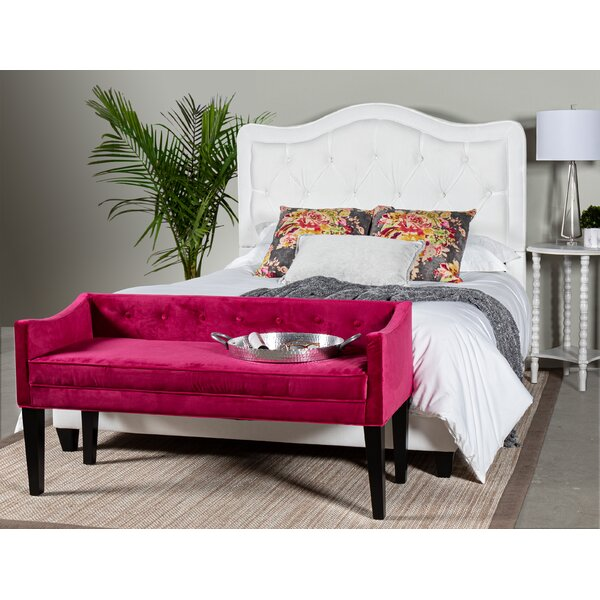 Bromberg Upholstered Standard Bed by Darby Home Co