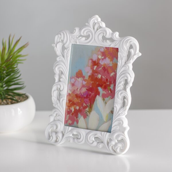 Chateau Baroque Design Picture Frame by House of Hampton