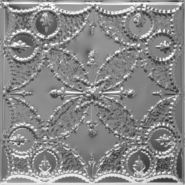 24 x 24 Unfinished Metal Tile in Steel by Shanko