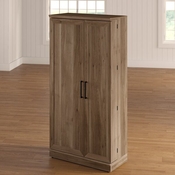 Arbyrd Storage Cabinet Kitchen Pantry Armoire By Charlton Home by Charlton Home 2020 Coupon