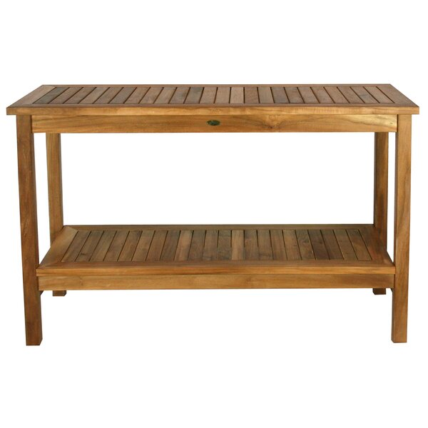 Santa Barbara Teak Console Table by Chic Teak
