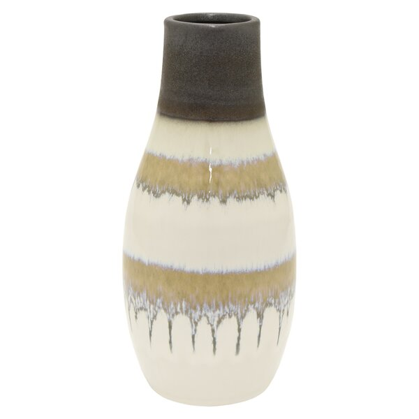 Worley Ceramic Table Vase by World Menagerie