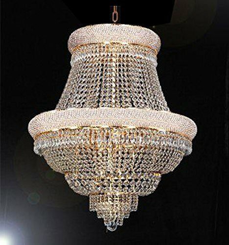 Howardville 21 - Light Unique / Statement Empire Chandelier With Crystal Accents By Rosdorf Park