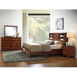 Asger King Platform Configurable Bedroom Set ByRoundhill Furniture
