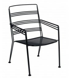 Madison Stacking Patio Dining Chair (Set of 2) by Woodard Woodard