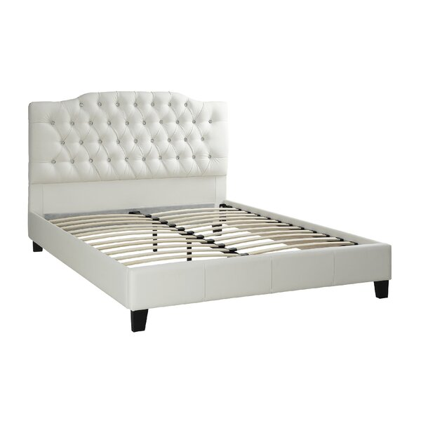 Harbaugh Upholstered Platform Bed by Alcott Hill