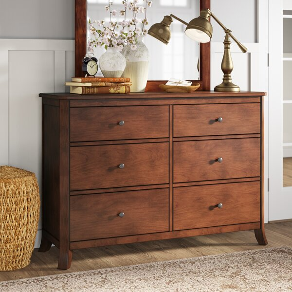 Marilyn 6 Drawer Double Dresser by Birch Lane™ Heritage