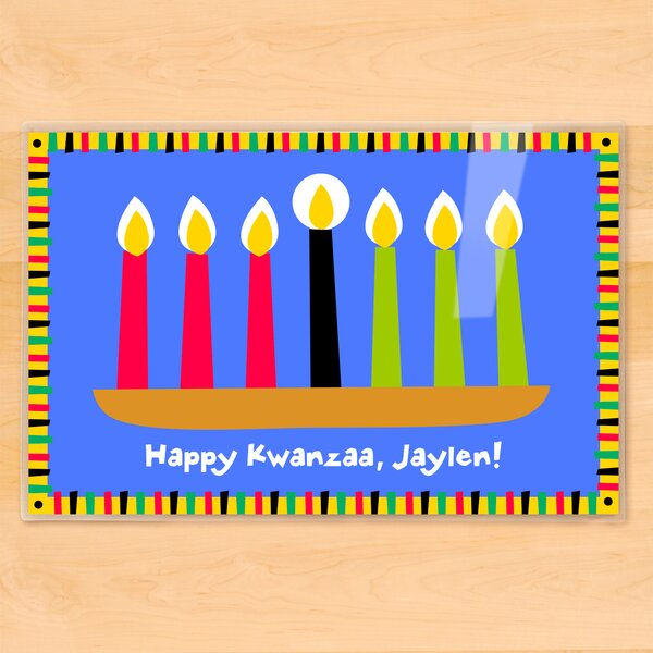 Kwanzaa Personalized Placemat by Olive Kids