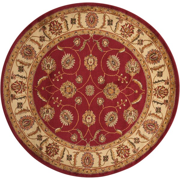 Lukeson Red Area Rug by Astoria Grand