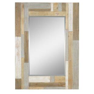 Gracie Oaks Pasko Farmhouse Wall Mirror