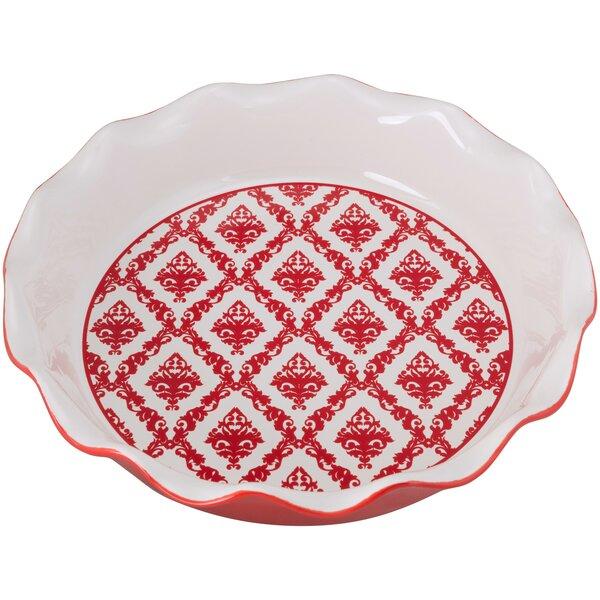 Damask Pie Dish by Ten Strawberry Street