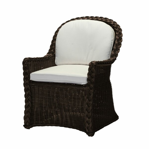 Sedona Patio Dining Chair with Cushion by Summer Classics