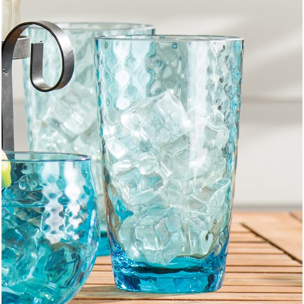 Granada 23 oz. Plastic Everyday Glasses (Set of 6) by Birch Lane™