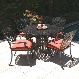 ComfortCare 5 Piece Outdoor Dining Set By Infinita Corporation