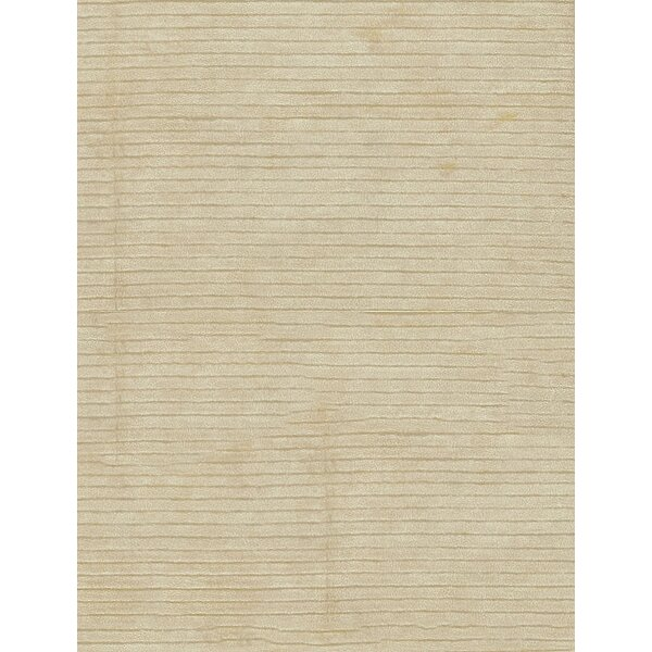 Artificial Gabeh Hand-Knotted Silk Ivory Area Rug by Bokara Rug Co., Inc.