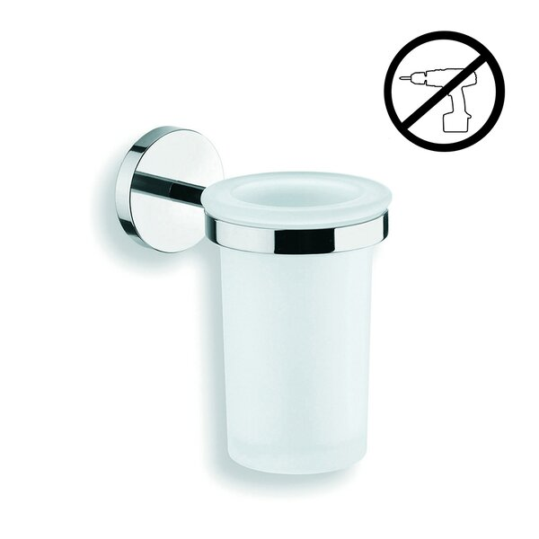 Duemila Self-Adhesive Tumbler and Tumbler Holder by WS Bath Collections