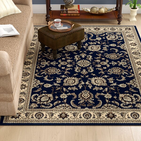 Weiser Traditional Blue Oriental Area Rug by Astoria Grand