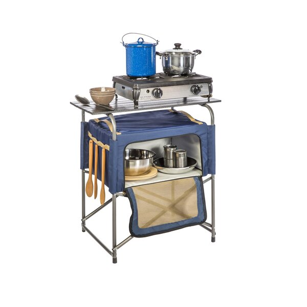 Best Choices Keeble Insulated Bag Prep Table With Aluminum Top By Symple Stuff Coupon